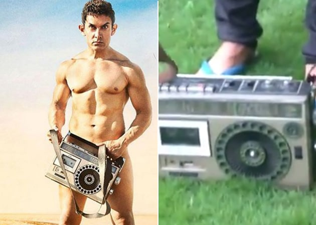When Aamir Khan Took On The Bang Bang Dare and Took Off The Transistor