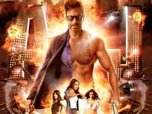 First Look: Ajay Devgn At His Fiery Best  in <i>Action Jackson</i>