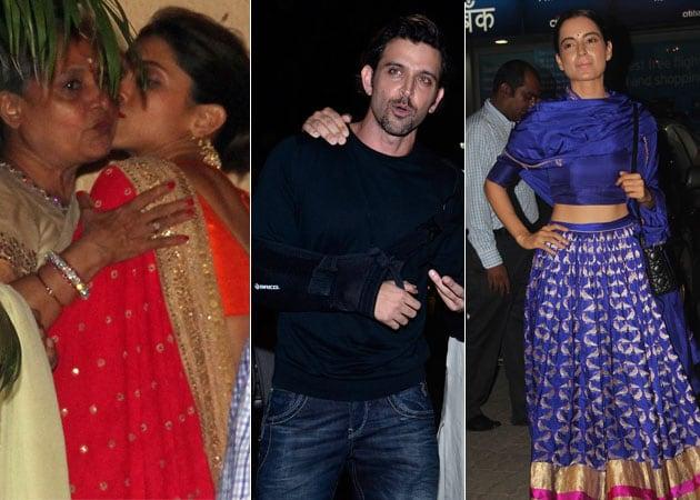 The Bachchan Diwali Party: VIP Guests Include Deepika, Hrithik, Kangana