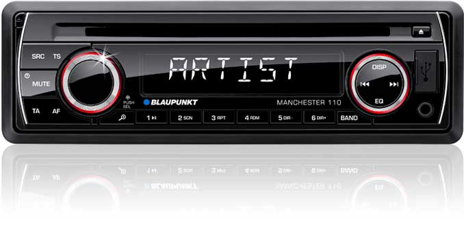 blaupunkt india launches two single din car audio systems. Black Bedroom Furniture Sets. Home Design Ideas
