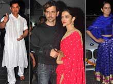 At Aamir Khan's Diwali Party, a Repeat of Bachchan Guest List