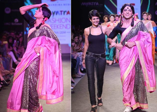 Gutthi is a Rockstar: Mandira Bedi