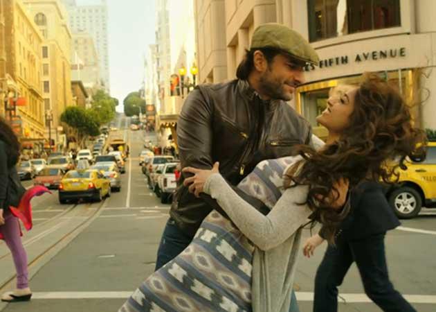 Saif Ali Khan, Ileana D'Cruz's Amorous Spell in Jaise Mera Tu From Happy Ending