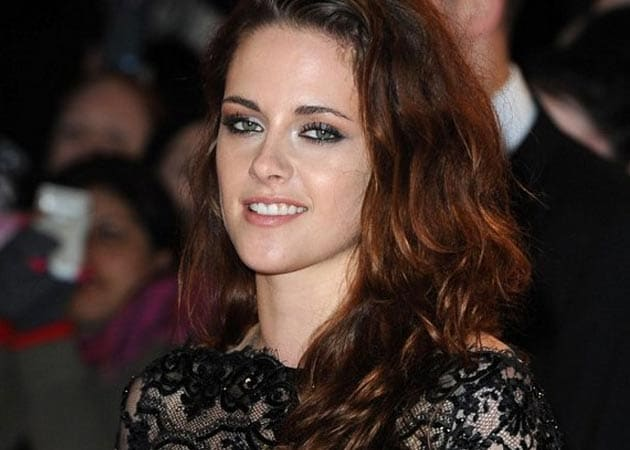 Kristen Stewart Is In Her Happy Place
