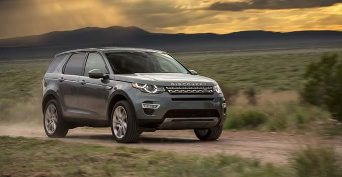 Discovery Sport Kicks Off New Family of Vehicles For Land Rover