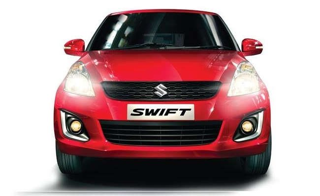 New Maruti Swift facelift front