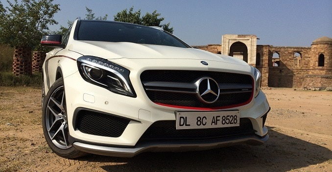 mercedes-benz gla 45 amg review - ndtv carandbike