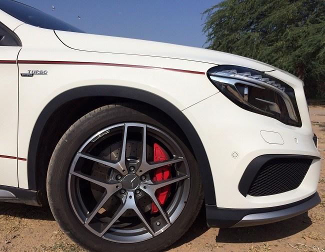 Mercedes GLA 45 AMG Wheels