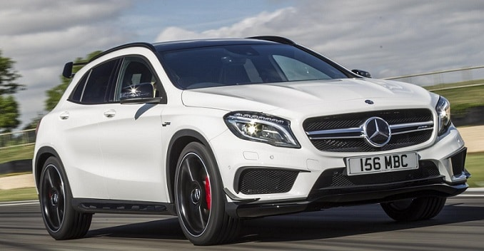 Mercedes-Benz GLA 45 AMG Launching on October 27, 2014 ...