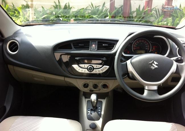 New Maruti Suzuki Alto K10 AMT Interior