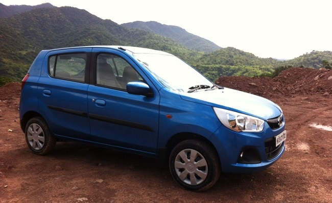 Maruti Alto K10 AMT side profile