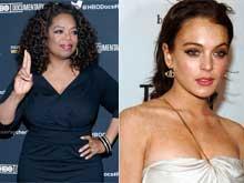 Oprah Winfrey Still Supports Lindsay Lohan
