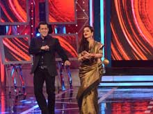 Rekha Makes an Amitabh Bachchan Reference on <i>Bigg Boss</i>