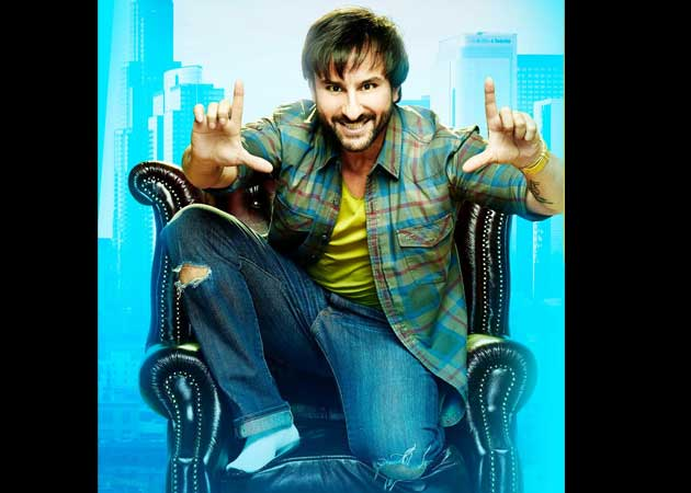 Official First Look: Saif Ali Khan Fixes His Frame For A Happy Ending