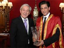 Shah Rukh Khan Presented With Britain's Global Diversity Award