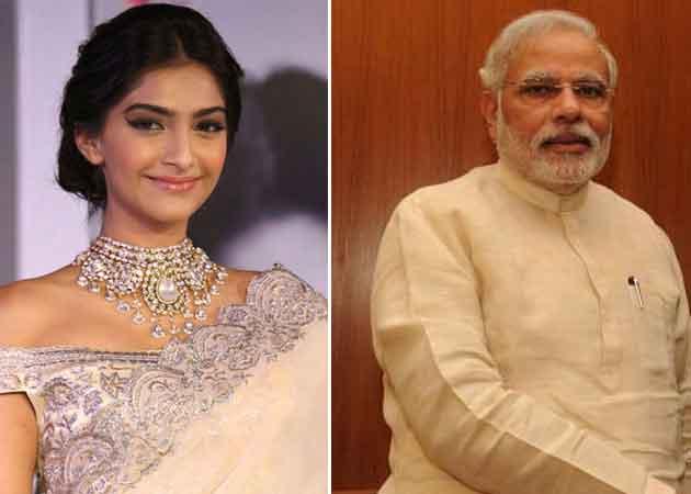 Sonam Kapoor's 'Best Selfie Ever' Is With PM Modi