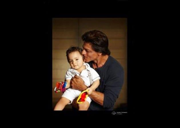 Meet Shah Rukh Khan's Son AbRam. Finally