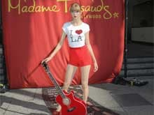 Taylor Swift's Wax Figure Unveiled