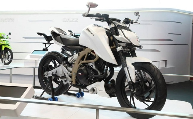Details Emerge About TVS-BMW's First Bike - The K03
