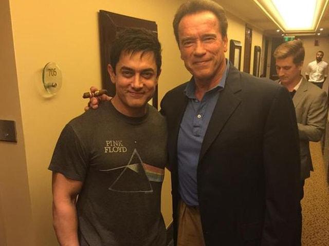 Aamir Khan: Bizarre Feeling to Watch The Terminator Walk Into My Room
