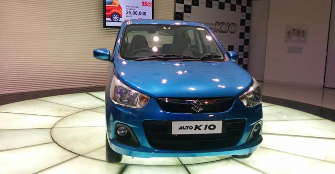New Maruti Alto K10 Launched