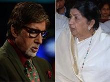 When Amitabh Bachchan Made Lata Mangeshkar Cry