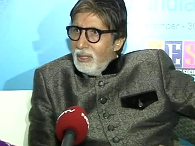 Amitabh Bachchan on the Rajinikanth