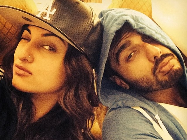 Sonakshi on Dating Arjun: Watching a Film Together Doesn't Mean You're in Relationship