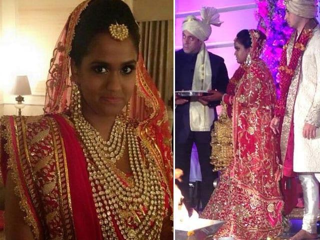 Arpita Khan's Wedding: The Bride's Wedding Finery by Abu-Sandeep
