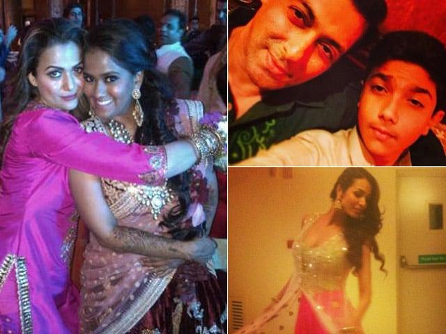 Inside Arpita Khan's Sangeet: Salman, Malaika, Amrita Make it a Glam Affair
