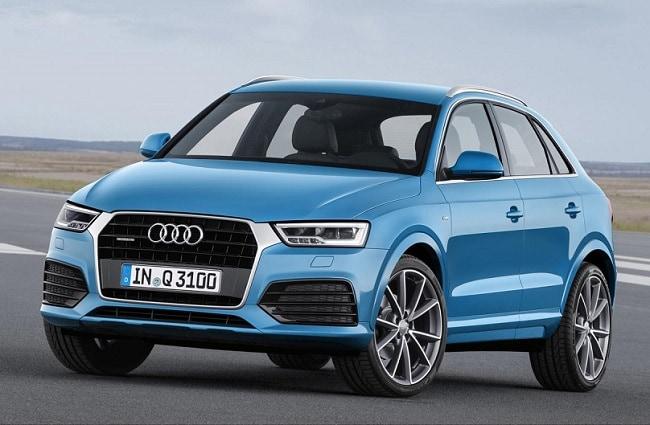 Audi Q3 Front-side profile