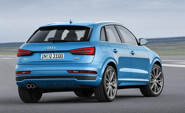 Audi Q3 Rear profile