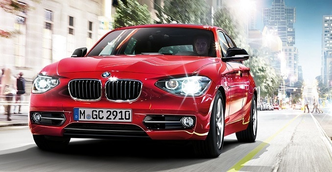 Buy BMW 1 Series for Just Rs 555 Per Day
