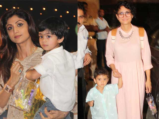 For Aaradhya Bachchan's Third Birthday, a Starry Chillar Party