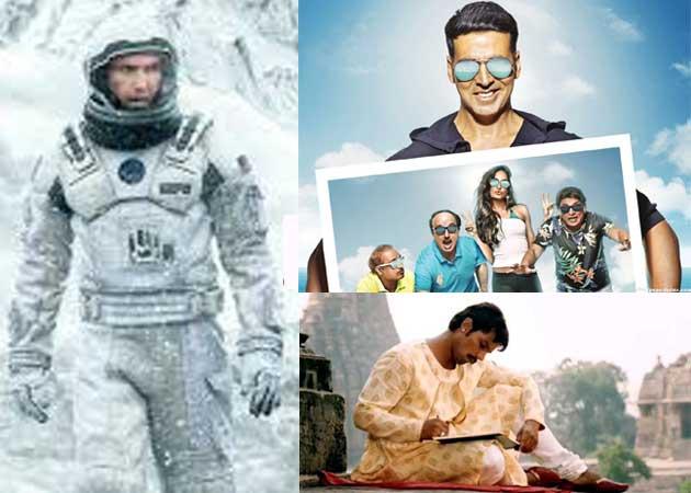 Today's Big Releases: Interstellar, The Shaukeens, Rang Rasiya