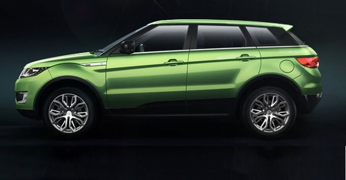 LandWind X7 - A Chinese Copy of the Range Rover Evoque