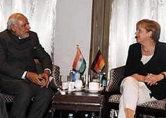 जर्मन चांसलर मर्केल ने कहा, पीएम मोदी की राह देख रहा है जर्मनी