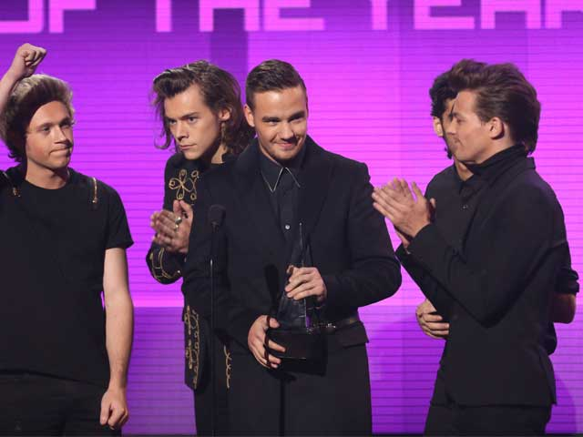 One Direction, Katy Perry Win Big at American Music Awards