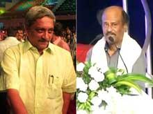 IFFI 2014: After Missing Rajinikanth's Name, Parrikar Apologises