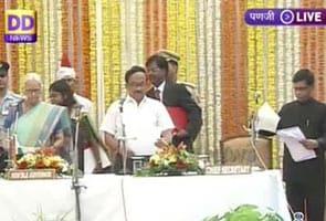लक्ष्मीकांत पार्सेकर ने गोवा के नए मुख्यमंत्री के रूप में ली शपथ