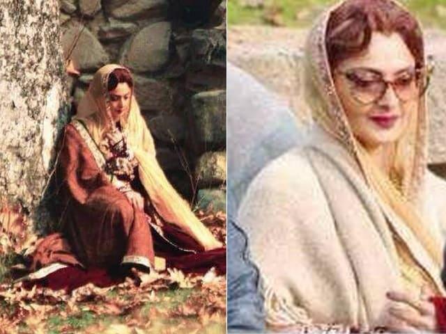 Revealed: Begum  Rekha's Look in Fitoor