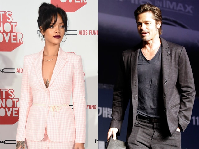 Brad Pitt to Join Rihanna at Her Diamond Ball