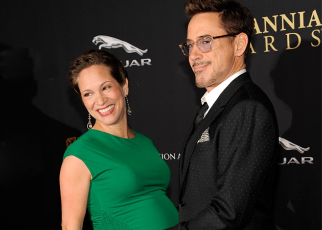 Robert Downey Jr Pays Tribute to Pregnant Wife