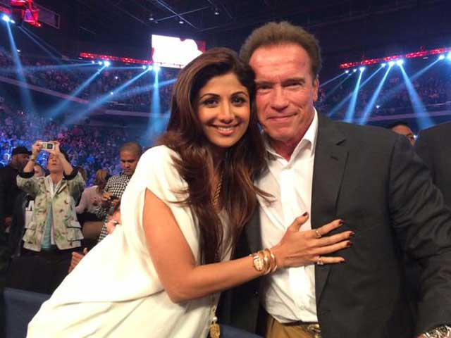 When Shilpa Shetty's Dhadkan Increased After Meeting The Terminator