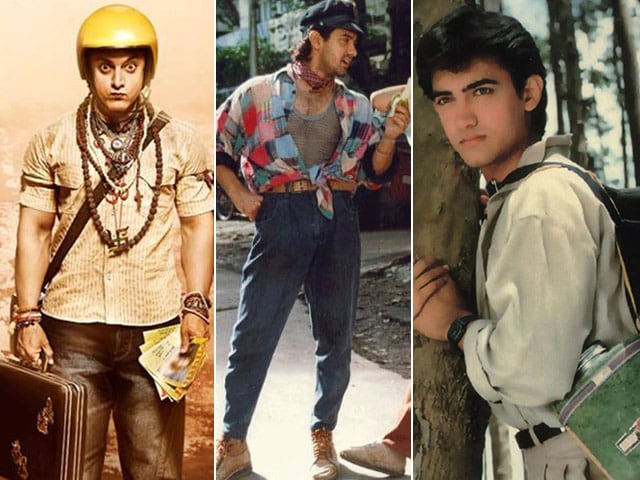 Aamir Khan, Master of Disguise: From Qayamat Se Qayamat Tak to PK
