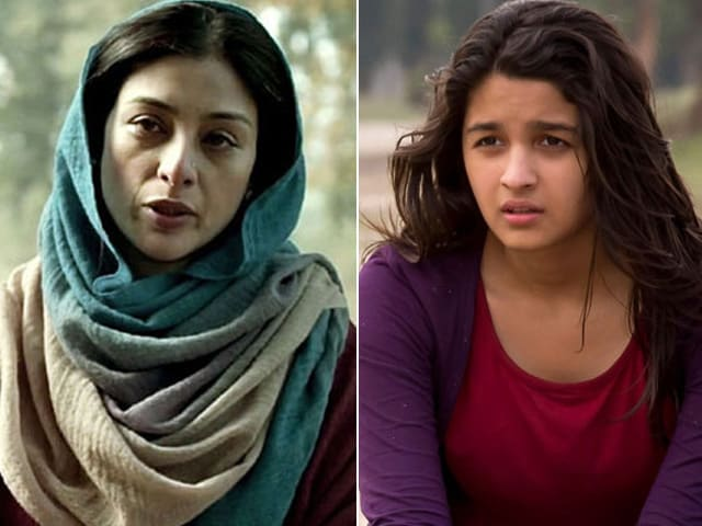 Tabu's Haider to Alia's Highway: 2014's 10 Best Performances