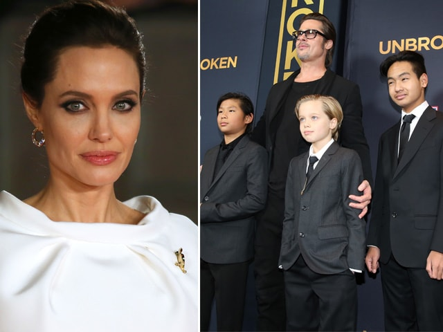 Angelina Jolie: Maintaining Marriage, Raising Kids is Hard Work