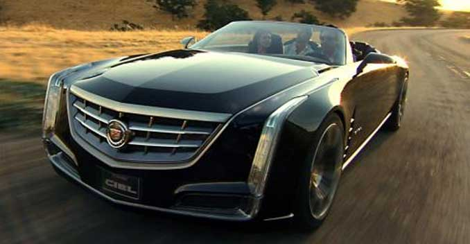 Cadillac Ciel Concept To Be Part Of The Entourage Movie Ndtv