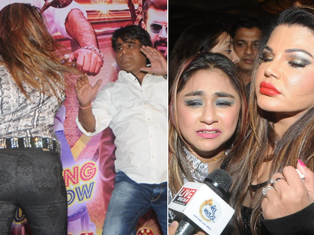 Actress Slaps Rakhi Sawant's Director, Accuses Him of 'Casting Couch'