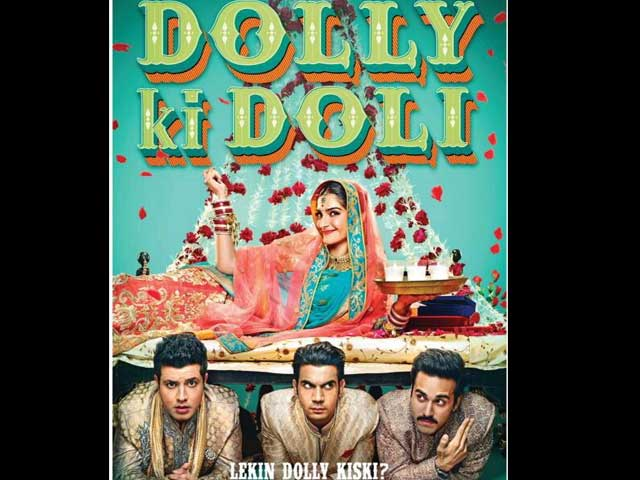 Dolly Ki Doli Poster: Sonam Kapoor Has a Bed of Roses and Three Grooms-in-Waiting